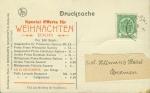 1909, Special Offerte für Weihnachten