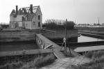 1976, Oesterput Nieuwpoort tijdens afbraak