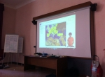 César presenting the SDI viewer status