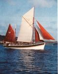 O.125 Francois - Helene (bouwjaar 1943) omgebouwd tot zeilboot