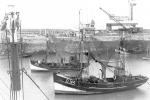 O.144 Eug�ne-Gustaaf (bouwjaar 1926) en de 0.59 Maddy II (bouwjaar 1942), author: onbekend