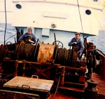 Aan boord van de N.579 Karine (Bouwjaar 1960)