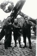 3 man bij anker