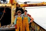 2 vissers op het dek van de O.232