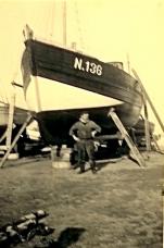 A. Hillebrandt voor de N.136 Hubert-Nadine (Bouwjaar 1942)