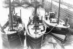 O.780 Stormvogel (bouwjaar 1941) en de O.797 Zeezwaluw (bouwjaar 1942)
