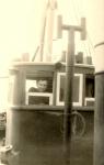 Coulier Ren� op de brug van de N.741 Hoop op vrede (Bouwjaar 1941), author: Onbekend