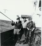 Vissers aan boord van de N.762