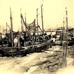 Bemanning op ingevroren vaartuig