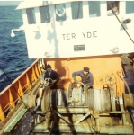 Aan de winch van de N.752 Ter Yde (Bouwjaar 1971)