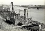 Gesloopte vaartuigen te Nieuwpoort