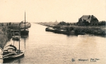 Palingschuiten in de Ijzer te Nieuwpoort