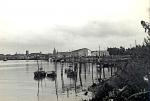 Palingschuiten in haven Nieuwpoort