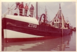 Z.733 Heldenhulde (Bouwjaar 1936) op kuisbank Zeebrugge. 