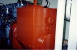 Hulpmotor met generator van Z.186 Shannon (Bouwjaar 1991)