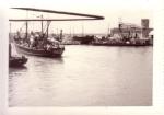 Z.551 Johan-Ronny (Bouwjaar 1957) loopt haven Zeebrugge uit