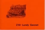 Uitnodiging doop en maiden trip Z.92 Lundy Gannet (Bouwjaar 1980)
