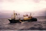 Z.38 Manta (Bouwjaar 1986) op Noordzee, author: Onbekend