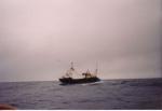 Z.207 Adamtje (Bouwjaar 1985) op Noordzee.