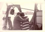2 personen aan boord