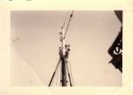 Nazicht navigatielichten vissersvaartuig