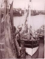 Z.727 Marie (Bouwjaar 1936) in oude vissershaven Zeebrugge