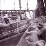 Netten herstellen aan boord