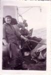 Charles Verbeke ('Prumme') en andere vissers aan boord