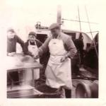 Vis kuisen voor school op O.29 Broodwinner (Bouwjaar 1967), author: Onbekend