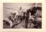 Z.412 Belgian Researcher (bouwjaar 1950) klaarmaken om te vissen