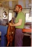 Joseph Vandewalle in stuurhut