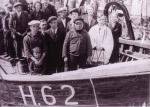 Inhuldiging H.62 De Drie Gezusters (bouwjaar 1939), author: Onbekend