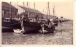 BR.42, BR.55, BR.36 en andere schepen in haven Breskens