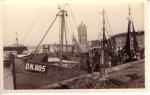 Schepen aan de Place du minque, de verdwenen vismijn van Dunkerque