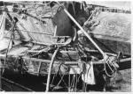 Bovenaanzicht van het wrak van de B.604 Ibis (Bouwjaar 1954)