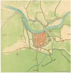 <B>van Deventer, J.</B> (1884-1924). Nieuport. Stadsplannen van de steden der Spaanse Nederlanden- J.van Deventer (1550-1570) = Plans de villes des Pays-Bas espagnols - J. de Deventer, (1550-1570). Institut National de Géographie: Brussel. 1 map pp