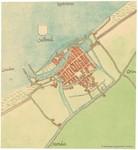 Stadsplattegrond van Oostende 1550-1570
