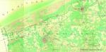 de Ferraris, J.J.J. (1771-1778). Nieuport. Kwartblad 2/1 en 2/3. Scale 1: 11.520. Kabinetskaart van de Oostenrijkse Nederlanden en het prinsbisdom Luik (1771-1778). J. de Ferraris: Brussel. 1 map pp.