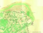 de Ferraris, J.J.J. (1771-1778). Sluys ou l'Écluse. Kwartblad 23/1 en 23/2. Scale 1:11.520. Kabinetskaart van de Oostenrijkse Nederlanden en het prinsbisdom Luik (1771-1778). J. de Ferraris: Brussel. 1 map pp.