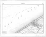 &lt;B&gt;Vander Maelen, Ph.&lt;/B&gt; (1846-1856). Ostende 111. <i>Carte topographique de la Belgique, dressée sous la direction de Ph. Vander Maelen à l'échelle de 1 à 20.000</i>. Etablissement géographique de Bruxelles fondé par Ph. Vandermaelen: Bruxell