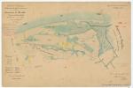 &lt;B&gt;Doyers <i>et al.</i>&lt;/B&gt; (1853). Commune de Knocke. Province de Flandre Occid.le. Arrondissement de Bruges. Canton de Bruges. N.° 5. N.° 100. <i>Carte de Belgique. Réduction des plans cadastraux</i>. Dépot de la Guerre: Bruxelles. 1 map pp.