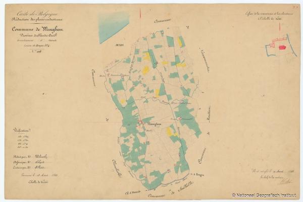 Commune de Vlisseghem - 1853
