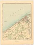 Institut Cartographique Militaire (1900). Ostende. Feuille XII, planchette n° 2. Levés et nivellements en 1860. Revision sur le terrain en 1883. Imprimé en couleurs en 1900. Carte topographique de la Belgique à l'echelle de 1:20.000 = Topografis