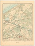 &lt;B&gt;Institut Cartographique Militaire&lt;/B&gt; (1902). Breedene. Feuille XII, planchette n° 3. Levés et nivellements en 1861. Revision sur le terrain en 1883. Topogravé en 1888. Imprimé en couleurs en 1891. Réimprimé en 1902. <i>Carte topographique de la Belgiq