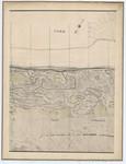 Ponts et Chaussées. Flandre Occidentale (1874). Plan de la côte depuis le village d'Oostduinkerke jusqu'à celui de Middelkerke. Feuille 7N, in: Ponts et Chaussées. Flandre Occidentale (1874-1885). Carte de la côte de Belgique 1:5.0