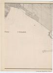 &lt;B&gt;Ponts et Chaussées. Flandre Occidentale&lt;/B&gt; (1874). Plan de la côte depuis le village d'Oostduinkerke jusqu'à celui de Middelkerke. Feuille 7S, <b><i>in</i></b>: Ponts et Chaussées. Flandre Occidentale (1874-1885). <i>Carte de la côte de Belgique 1:5.0