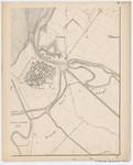 &lt;B&gt;Ponts et Chaussées. Flandre Occidentale&lt;/B&gt; (1874). Plan de la côte depuis le village d'Oostduinkerke jusqu'à celui de Middelkerke. Feuille 8S, <b><i>in</i></b>: Ponts et Chaussées. Flandre Occidentale (1874-1885). <i>Carte de la côte de Belgique 1:5.0