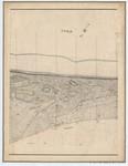 &lt;B&gt;Ponts et Chaussées. Flandre Occidentale&lt;/B&gt; (1874). Plan de la côte depuis le village d'Oostduinkerke jusqu'à celui de Middelkerke. Feuille 9, <b><i>in</i></b>: Ponts et Chaussées. Flandre Occidentale (1874-1885). <i>Carte de la côte de Belgique 1:5.00
