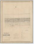 Ponts et Chaussées. Flandre Occidentale (1885). Plan de la côte partie comprise entre le village de Middelkerke et celui de Wenduyne. Feuille 12, in: Ponts et Chaussées. Flandre Occidentale (1874-1885). Carte de la côte de Belgique