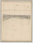 Ponts et Chaussées. Flandre Occidentale (1885). Plan de la côte partie comprise entre le village de Middelkerke et celui de Wenduyne. Feuille 17, in: Ponts et Chaussées. Flandre Occidentale (1874-1885). Carte de la côte de Belgique